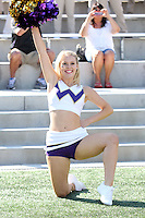 AUG 16, 2014:  University of Washington cheerleader Daniella DeSantis during Football Picture Day at Husky Stadium in Seattle, Washington