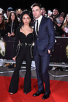 Robert Pattinson &amp; singer FKA Twiggs (Tahliah Debrett Barnett) at the UK premiere of &quot;The Lost City of Z&quot; at the British Museum, London, UK. <br /> 16 February  2017<br /> Picture: Steve Vas/Featureflash/SilverHub 0208 004 5359 sales@silverhubmedia.com