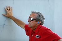 Jun 12, 2016; Englishtown, NJ, USA; NHRA team owner Don Schumacher during the Summernationals at Old Bridge Township Raceway Park. Mandatory Credit: Mark J. Rebilas-USA TODAY Sports