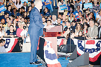 Former Vice President Al Gore speaks at a campaign rally for Democratic presidential nominee Hillary Clinton in the Theodore R. Gibson Health Center at Miami Dade College-Kendall Campus in Miami, Florida, USA.