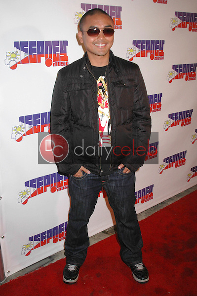 J-Ricz<br />at the Jeepney Music Launch Party. ECCO, Hollywood, CA. 08-11-09<br />Dave Edwards/DailyCeleb.com 818-249-4998