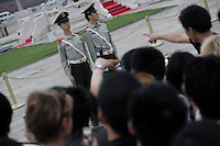 An accusation ? <br /> An evening at Tiananmen square, May 2009.