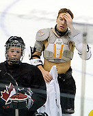 Ryan Ellis (Canada - 8), Zach Boychuk (Canada - 11) - Team Canada practiced the morning of Tuesday, December 30, 2008, at Scotiabank Place in Kanata (Ottawa), Ontario during the 2009 World Junior Championship.