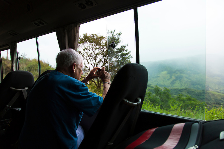 On the road to Monteverde, a small town in Puntarenas, Costa Rica.  The Monteverde Cloud Forest is a major ecotourism destination in Costa Rica