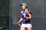 23 April 2015: Quinn Gleason. The Notre Dame University Fighting Irish played the Florida State University Seminoles at the Cary Tennis Park in Cary, North Carolina in a 2015 NCAA Division I Women's Tennis and Atlantic Coast Conference Tournament First Round match. Florida State won the match 4-3.
