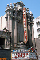 "Los Angeles: Los Angeles Theater, 1931. S. Charles Lee. (""Probably the finest theater building in L. A. "")"