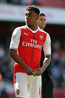 Alex Iwobi of Arsenal after Arsenal vs Everton, Premier League Football at the Emirates Stadium on 21st May 2017