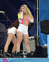FLUSHING NY- AUGUST 27: Sophie Beem performs during Arthur Ashe kids day at the USTA Billie Jean King National Tennis Center on August 27, 2016 in Flushing Queens. Photo MPi04 / MediaPunch