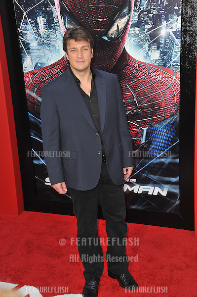 "Nathan Fillion at the world premiere of ""The Amazing Spider-Man"" at Regency Village Theatre, Westwood..June 29, 2012  Los Angeles, CA.Picture: Paul Smith / Featureflash"
