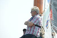 SKÛTSJESILEN: LEMMER: 07-08-2015, IFKS skûtsjesilen, ©foto Martin de Jong