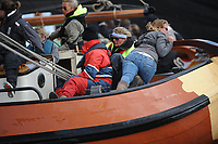 ZEILSPORT: LANGWEER: 23-04-2017, Skûtsjesilen Langweer, ©foto Martin de Jong