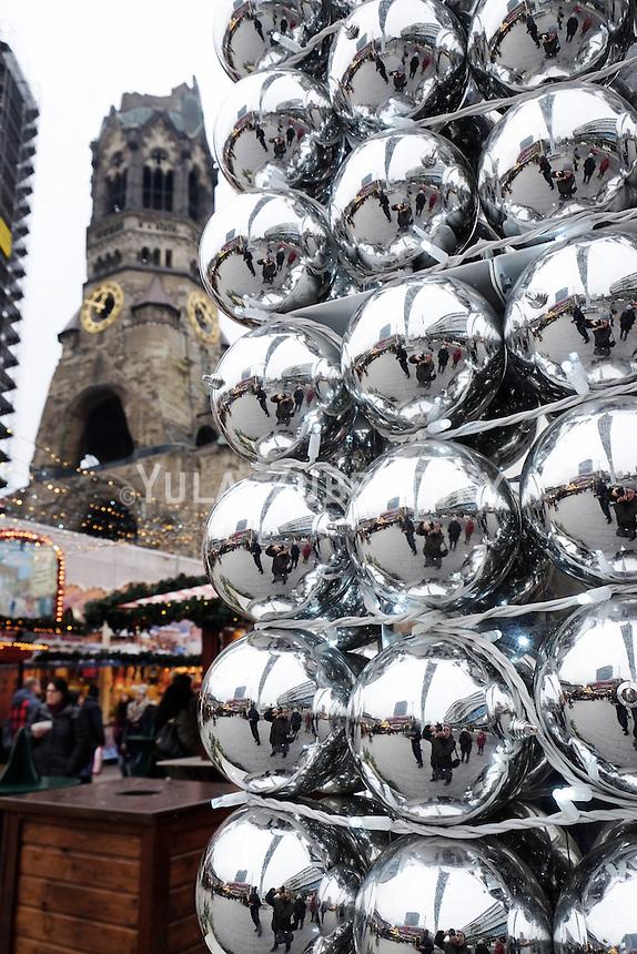 Germany Berlin Christmas market - Breitscheidplatz