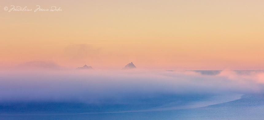 Misty Sunrise Skellig Islands / sk033 I love the Skelligs,