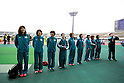 Team group (Mitsui Sumitomo Kaijo), NOVEMBER 3, 2011 - Ekiden : East Japan Industrial Women's Ekiden Race at Saitama, Japan. (Photo by Toshihiro Kitagawa/AFLO)
