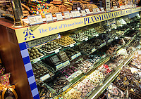 Chocolate shop in Reading Terminal Market, Philadelphia, USA