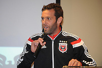 Georgetown, Wash. D.C. - Saturday, February 15, 2014: The 2014 D.C. United team is presented to the public at Pinstripes in the Shops at Georgetown.