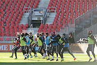 Toronto, ON, Canada - Friday Dec. 09, 2016: Toronto FC during training prior to MLS Cup at BMO Field.