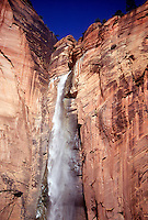 WATERFALLS<br /> Seasonal Waterfall<br /> Zion National Park, UT