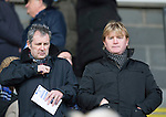St Johnstone v Inverness Caledonian Thistle....22.02.14    SPFL<br /> Stuart McCall wacthing the game ahead of Tuesday's match<br /> Picture by Graeme Hart.<br /> Copyright Perthshire Picture Agency<br /> Tel: 01738 623350  Mobile: 07990 594431