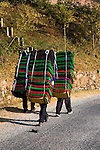 So legendary are the load-carrying abilities of the Nepalese that the word Sherpa, a term for one of the country's ethnic groups, has become synonymous with &quot;porter.&quot;  A typical Nepalese porter can carry a load nearly as heavy as he or she is.  They are highly regarded as expert mountaineers as well as having good physical endurance and resilience to high altitude conditions.
