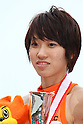 Chisato Fukushima, ..JUNE 12, 2011 - Athletics : ..The 95th Japan Track & Field National Championships ..Women's 200m Final ..at Kumagaya Stadium, Saitama, Japan. ..(Photo by YUTAKA/AFLO SPORT) [1040]..
