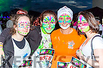 Erin Hegarty, Hannah Combs, Heather Combs and Stephanie Sheehy Kenmare at the Killarney Glow Neon run on Saturday night