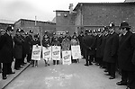 Grunwick Strike North London UK. South Asian women strikers. 1977
