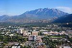 1309-22 1076<br /> <br /> 1309-22 BYU Campus Aerials<br /> <br /> Brigham Young University Campus South looking North, Provo, South Campus,  Mount Timpanogos, Provo Valley<br /> <br /> September 7, 2013<br /> <br /> Photo by Jaren Wilkey/BYU<br /> <br /> &copy; BYU PHOTO 2013<br /> All Rights Reserved<br /> photo@byu.edu  (801)422-7322