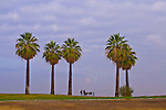 Family enjoying the panorama at Panorama Park, Bakersfield, California.