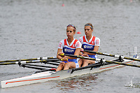 Amsterdam, NETHERLANDS, NED BLW2X,  2011 FISA U23 World Rowing Championships, Wednesday, 20/07/2011 [Mandatory credit:  Intersport Images]
