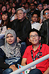 Spectators watch fight<br />