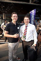 Michael Goodchild of Surveyhub with David Fidlay of Jones Lang LaSalle