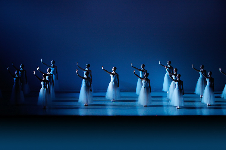 Nevada Ballet Theatre dancers perform in Las Vegas, NV.