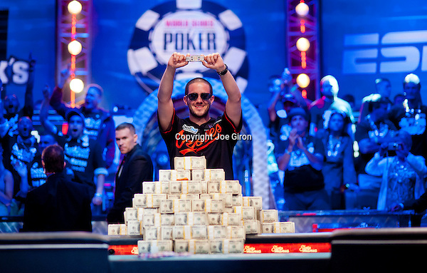 2012 World Series of Poker Main Event Final Table