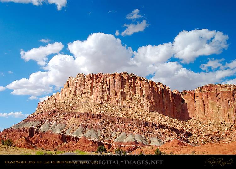 Grand Wash Cliffs, Capitol Reef National Park, Utah