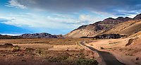 Death Valley National Park, Artists Palette, Road,  Panorama, Vista, Amargosa Range, DVNP CGI Backgrounds, ,Beautiful Background