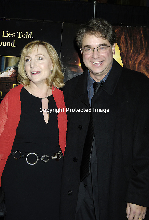 """Producer Leslie Holleran and husband Andrew Mondshein ..the Editor of the Movie ..at a Special Screening of """" Casanova"""" on December 11, 2005 at The Loews Lincoln Square Theatre. ..Photo by Robin Platzer, Twin Images"""
