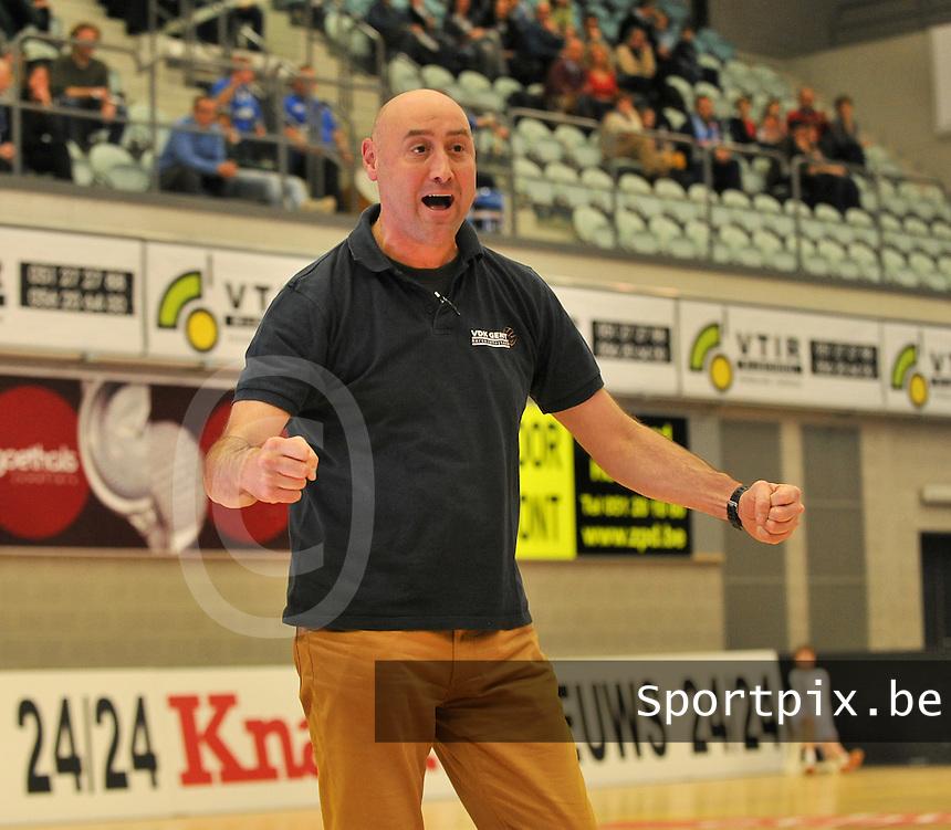 VDK Gent : coach Peter Reynvoet <br /> foto VDB / Bart Vandenbroucke