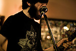 January 8, 2008. Durham, NC..Titus Andronicus at Dains's Place on 9th Street in Durham.