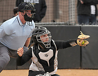 NWA Democrat-Gazette/BEN GOFF @NWABENGOFF<br /> Bentonvile vs Van Buren softball Thursday, March 16, 2017, at Bentonville's Tiger Athletic Complex.