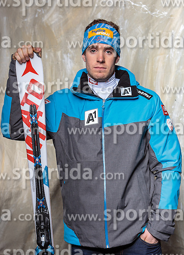 08.10.2016, Olympia Eisstadion, Innsbruck, AUT, OeSV Einkleidung Winterkollektion, Portraits 2016, im Bild Robert Winkler, Skicross, Herren // during the Outfitting of the Ski Austria Winter Collection and official Portrait Photoshooting at the Olympia Eisstadion in Innsbruck, Austria on 2016/10/08. EXPA Pictures © 2016, PhotoCredit: EXPA/ JFK