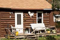 A cabin in Northern Minnesota along Minnesota's North Shore.