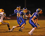 Oxford High's Conrey Meagher(17) runs vs. Hernando in Oxford, Miss. on Friday, October 14, 2011. Hernando won 31-30 in overtime.