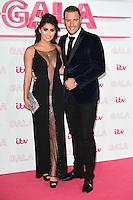 LONDON, UK. November 24, 2016: Elliot Wright &amp; Sadie Stewart at the 2016 ITV Gala at the London Palladium Theatre, London.<br /> Picture: Steve Vas/Featureflash/SilverHub 0208 004 5359/ 07711 972644 Editors@silverhubmedia.com