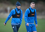 St Johnstone Training&hellip;30.12.16<br />Murray Davidson and Brian Easton pictured during training this morning ahead of tomorrow&rsquo;s game against Dundee<br />Picture by Graeme Hart.<br />Copyright Perthshire Picture Agency<br />Tel: 01738 623350  Mobile: 07990 594431