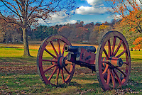 Civil War, Canon, Historic, Valley Forge, Pa,