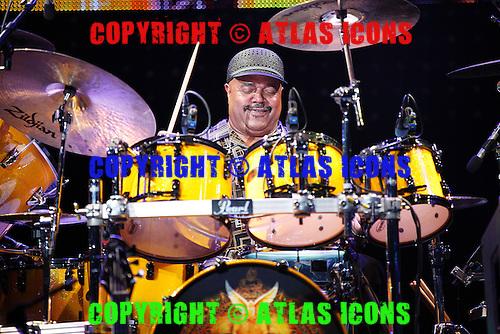 Santana, live, 2012 ,Ken Settle/atlasicons.com