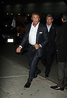 Sylvester Stallone at The Late Show