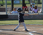 The Mariners' Jackson Newman vs. the Twins in Oxford Park Commission baseball action at FNC Park in Oxford, Miss. on Thursday, May 3, 2012.