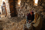 """Actors play the Holy Family at the """"Nazareth Village"""", a tourist attraction in Nazareth where Jesus had lived, aimed at Christian pilgrims and simulating life in a First-Century village."""